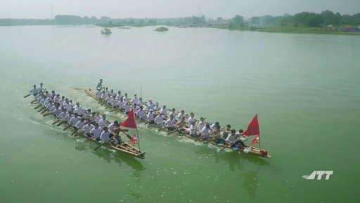 Dragon Boat Race - Aerial videography with JTT T60