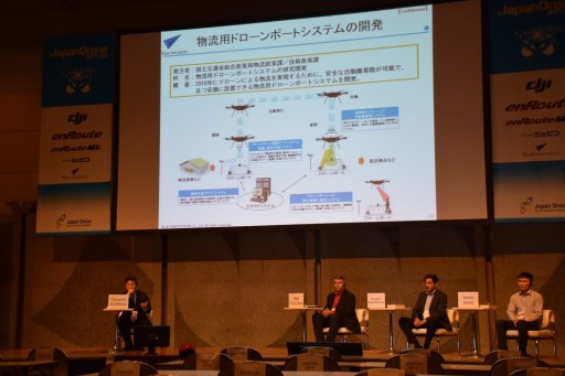 Industrial Drones Showing Great Potentials in Japan Drone 2017