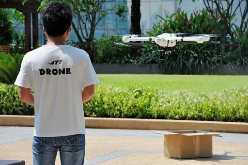 An Eye on the Road, JTT UAV Could Be Used to Patrol Traffic Hotspots on Thai Roads